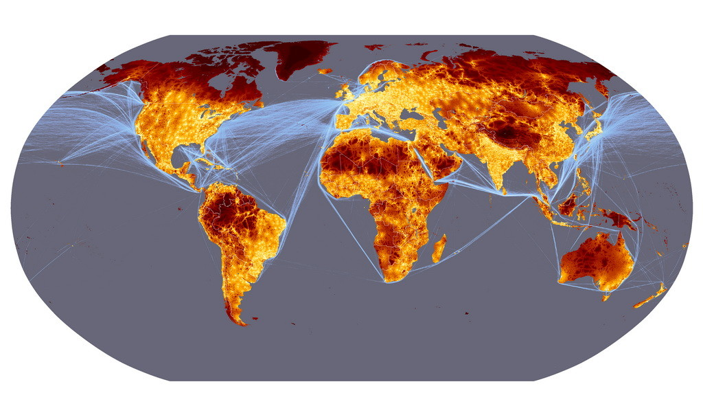 yacht shipping routes